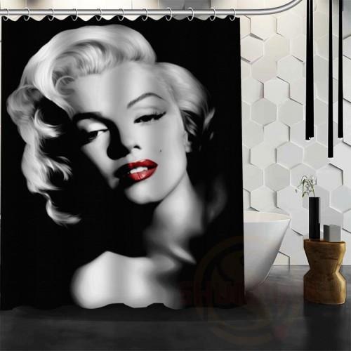 Marilyn Monroe Waterproof Fabric Shower Curtain Bath Curtain 60 x 72 Bathroom Decor