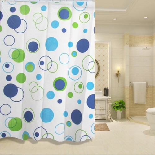 Mordern Sea Shell Starfish Curtain PEVA Waterproof Mildew Home Bathroom Curtains