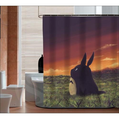 New Arrive My neighbor totoro Personalized Custom Shower Curtain Bath Curtain Waterproof curtain for the bathroom