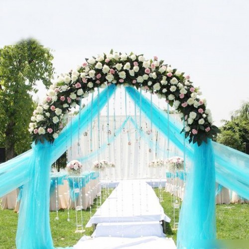 Wedding Sheer Organza Fabric Roll Wedding Craft Tulle Roll
