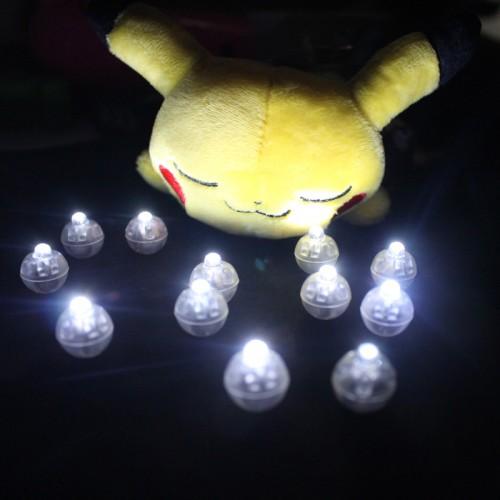 White Led Ball Lamps Mini Balloon Light For Paper Lantern Christmas New Year Wedding