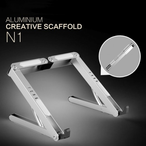 Aluminum Alloy Notebook Stand Portable Adjustable Computer Stand High Quality Phone Pad Laptop Calculator Books Stand