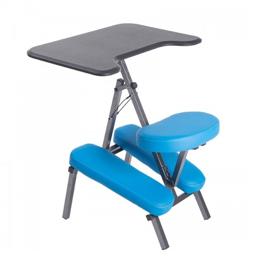 Ergonomic Adjustable Kneeling Desk and Combination Chair Mobile Work Station Home Office Furniture Kneeling Chair Kneed