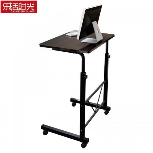 Simple Computer Desk Bed Wooden Desktop Home Mobile Lazy Lift Bedside Table Creative Adjustable Height Laptop