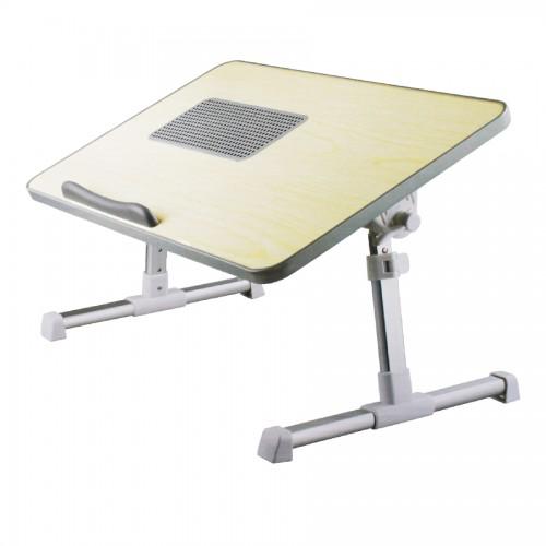 Comfort Ergonomic Laptop Table With Cooling Pad Laptop Desk