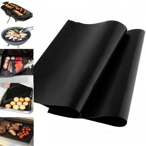 Grill Mat Barbecue Baking Liners Non stick Reusable Teflon Cooking Sheets