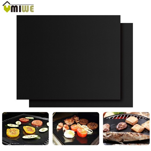 High Quality Non Stick Heat Resistant Grill Mats Durable BBQ Baking Mats