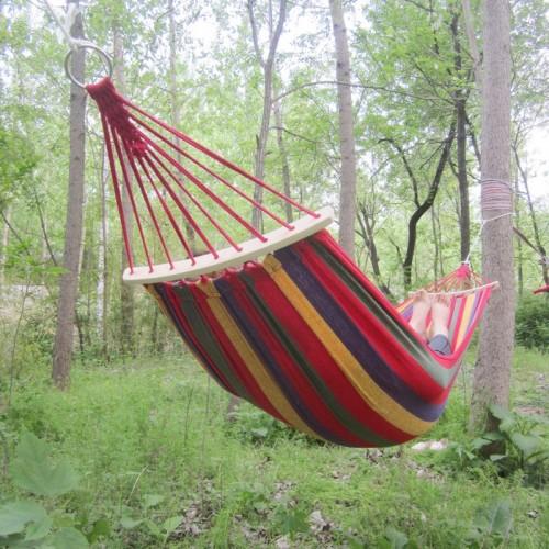 High Quality Hammock Travek Summer Camp Portable Outdoor Garden Hang Bed