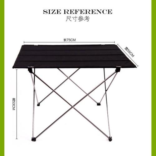 Outdoor Ultralight Portable Folding Desk Aluminum Alloy Table Picnic Durable Folding