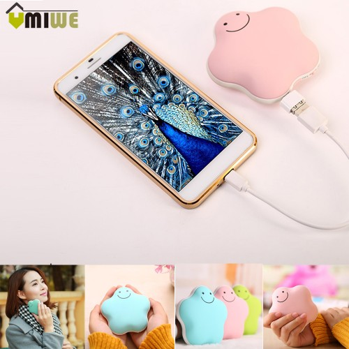 Portable Travel Handy Multifunctional Electric Hand Pocket Warmer Charging Power Bank Hand