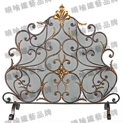 wrought iron floor mantel The oven rack Fireplace surrounds flameproof enclosure