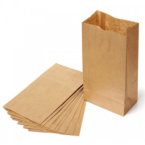 lot Brown Kraft Paper Gift Bags Candy Packaging Recyclable Jewelry Food Bread Paper Bags