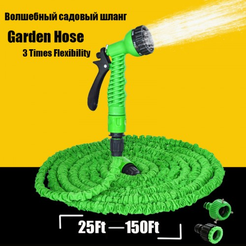 Expandable Magic Flexible Garden Hose Water Pipe Plastic Hoses To Watering