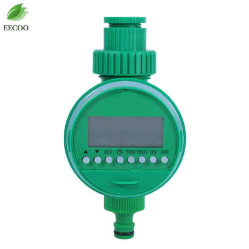 LCD Display Automatic Intelligent Electronic Garden Water Timer Rubber Irrigation