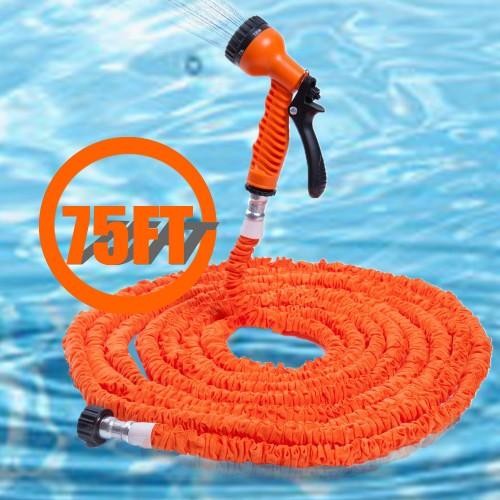 Modes Extensible Magic Flexible Soft Garden Water Hose 25FT 50FT 75FT 100FT