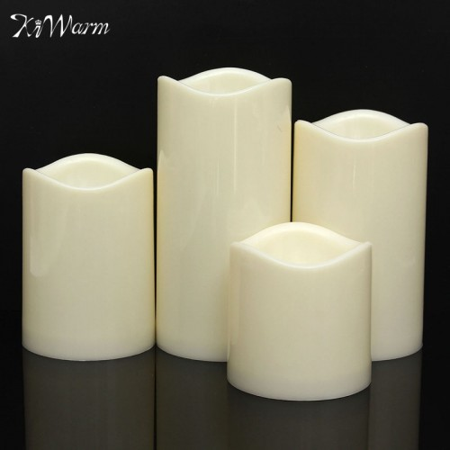 KiWarm Useful Flameless LED Tealight Candles Night Lights Lamp Battery Operated for Wedding Birthday Party Christmas
