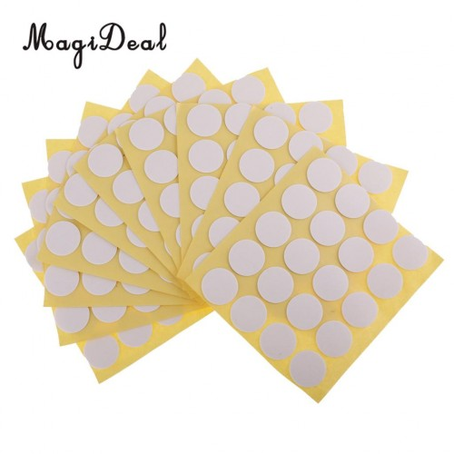 Magideal 200 pcs Candle Wick Stickers Adhesive Dots for Candle Making Home Decoration Candle Holder Fixed