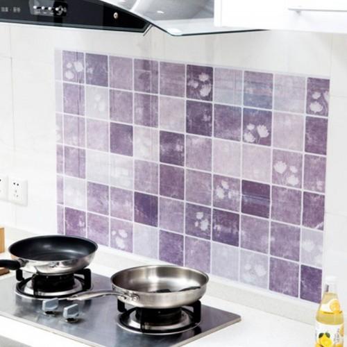 100 60cm Kitchen Wall Sticker Self Adhesive Stove Fat Waterproof Anti Oil Stickers