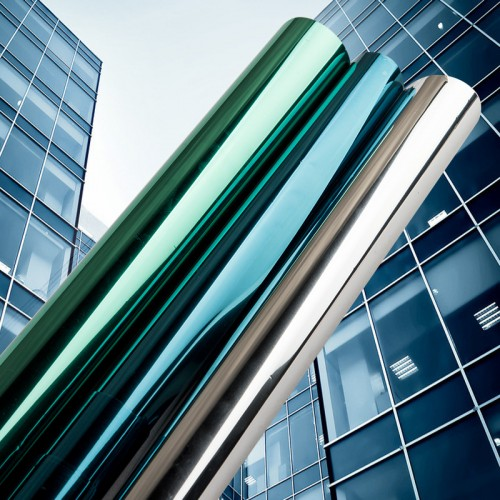 40 50 60 70 80 90 500CM Mirror Insulation Solar Tint Window Film Stickers UV Reflective