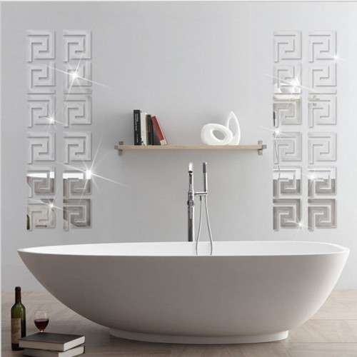 Home Decor Puzzle Labyrinth Acrylic Mirror Wall Decal Art Stickers Decals Best