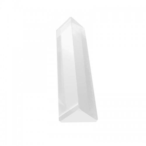 Optical Glass Triangular Triple Prism for Photography Teaching Light Spectrum Physics