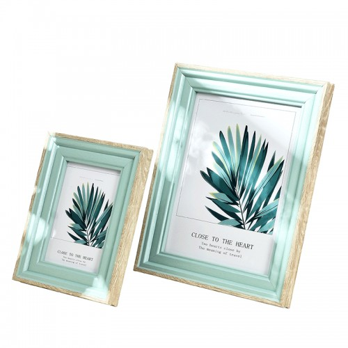 1 Pcs Quality Resin Photo Frame For Table Modern 14 Colors Picture Frames Home Decor Delicacy