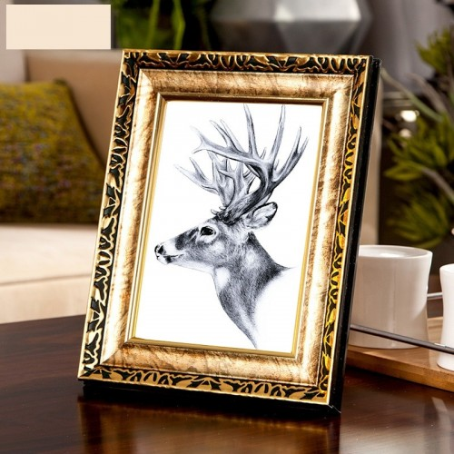 4 Colors Quality Vintage Photo Frame Gold Picture Frame Europe Home Decor Retro Wedding Pictures Frames