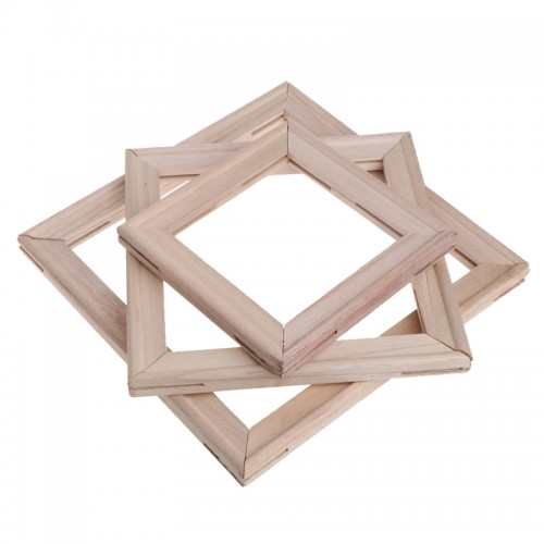 4Pcs Set Wood Stretcher Strip Bar Frame For Canvas Painting Art Gallery Wrapped Painting Frame
