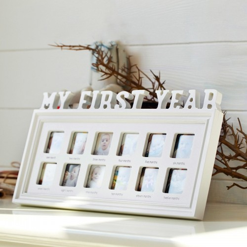 Baby Memorial Growing Picture Frame 1 12 Month Baby Photo Frame Display Kids Birthday Home
