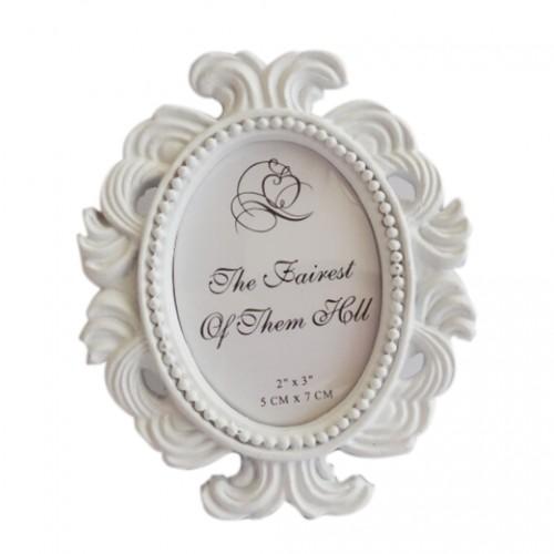 Floral Photo Frame Round Frame Picture Frame Holder Wedding Home Decor
