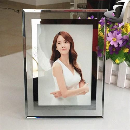 High grade thick glass photo frame Elegant Creative simple photo frame House decoration Anti burst