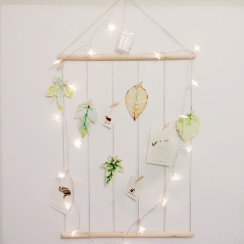 Wood Picture Photo Frame Collage Artworks Prints Multi Pictures Organizer Hanging Display Frames for Wall