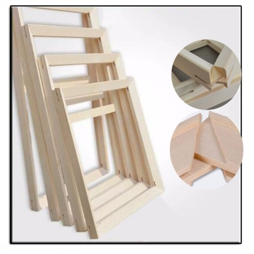 Wood frame for canvas oil painting Factory Price Wood frame for canvas oil painting nature wood