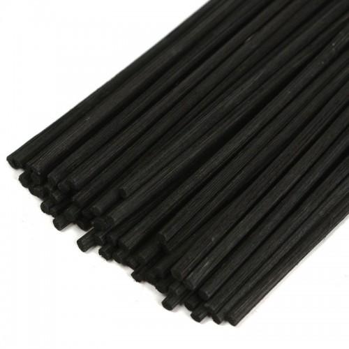50pcs lot 22cmx3mm Black Rattan Fragrance Sticks Essential oil Reed Diffuser Sticks Aromatic Sticks Bedroom