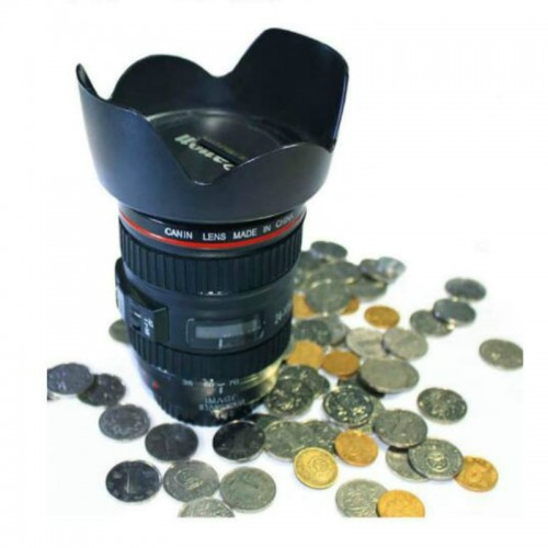Creative Children s unique funny Camera lens piggy bank creative style saving collecting money