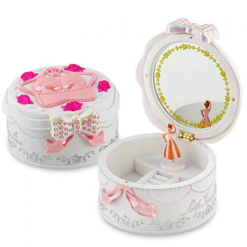 Cute Plastic Music Box Creative For Kids Musical Jewel Case Moded Music Boxes Boxs