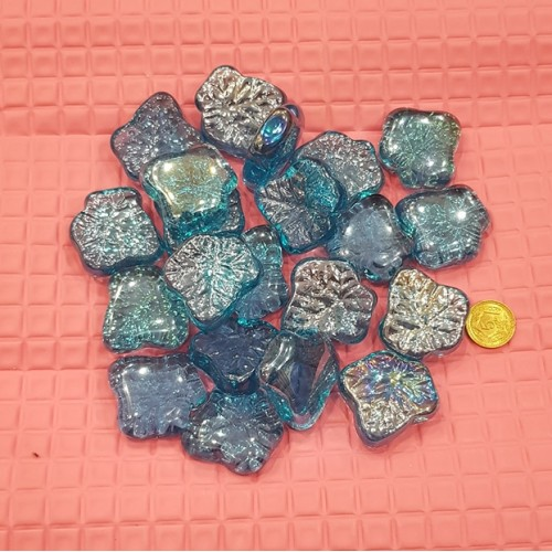 18 Pieces Gravel Pebbles For Aquarium Ornaments Fish Tank & Pots Decore (2)