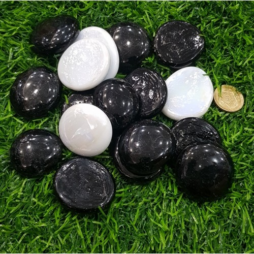 10 Pieces Gravel Pebbles For Aquarium Ornaments Fish Tank & Pots Decore (7)