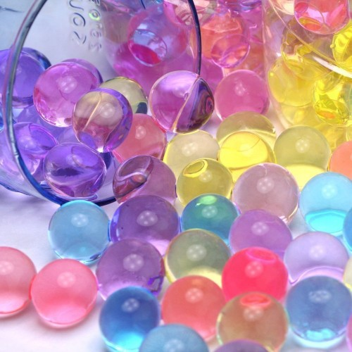 5000pcs Hydrogel Gel Jelly Beads Water Growing balls