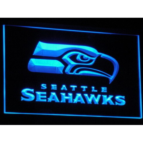 Seahawks Bar Pub LED Neon Sign