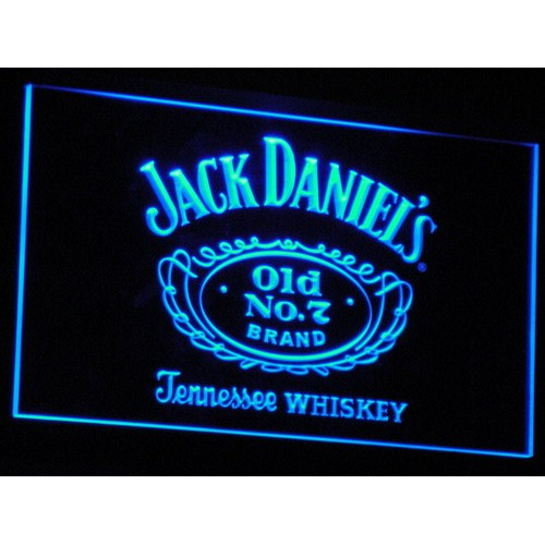 ack Daniel's Whiskey Bar Beer LED Neon Sign
