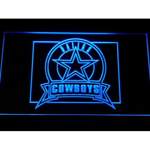 Cowboys Badge LED Neon Sign