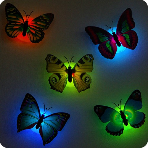 Butterfly night lamp Indoor wall lights decorations