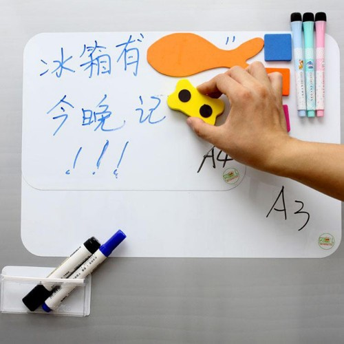 Magnetic Dry White x Refrigerator Message Board Pen Eraser