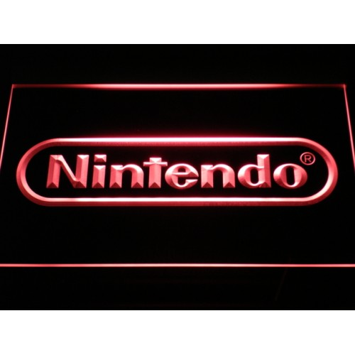 Nintendo Game Room Bar Beer LED Neon Sign
