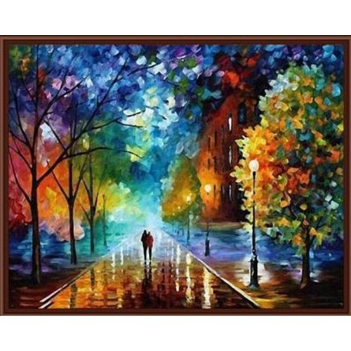 Frameless Pictures Painting By Numbers DIY Digital Oil Painting 40x50cm