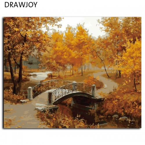 Frameless Wall Art Pictures Painting 40x50cm