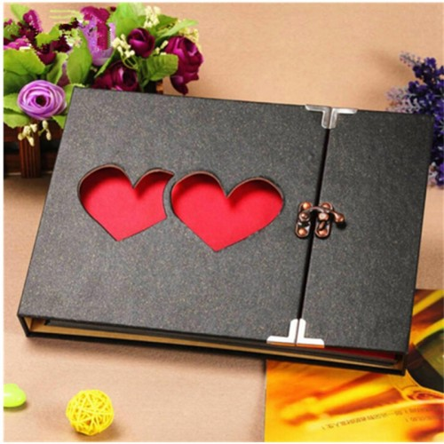 New 10inch DIY Photo Album Lovers Birthday Wedding Photos Baby Photo Ablum Scrapbook Paper Crafts