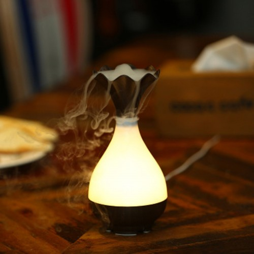 Air Humidifier Essential Oil Diffuser Aroma Lamp Aromatherapy Electric Aroma Diffuser Mist Maker for home office