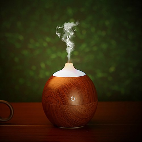 Air Humidifier Essential Oil Diffuser wood LED Aroma Aromatherapy Purifier Humidificador Mist Maker Office Home Car